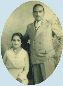 [Benjamin Dominguez and wife]